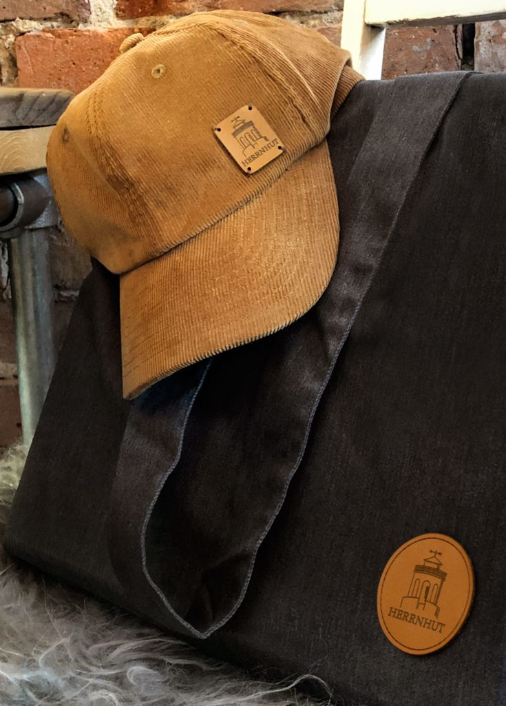 Herrnhut Collection Cap mit Lederpatch